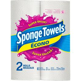 2 Pack 40 Sheet 2 Ply Econo Sponge Paper Towels thumb