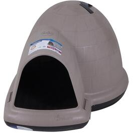 "43.75"" x 34"" x 25.75"" Indigo Igloo Dog House thumb"