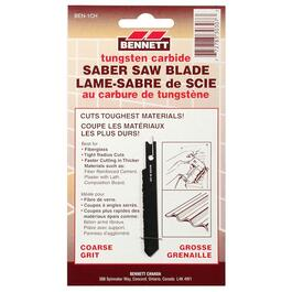 Coarse Grit Carbide U-Shank Jigsaw Blade, for Fiberglass Cutting thumb