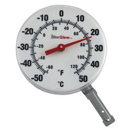 "6"" Dial Window Thermometer thumb"