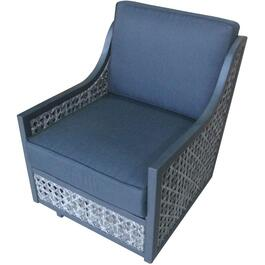 Parkside Wicker Rocker Club Chair, with Cushion thumb