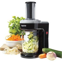 Black Electric Food Spiralizer thumb