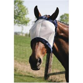Extra Large Horse Fly Mask, with No Ears thumb