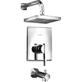Whistler Chrome Pressure Balance Tub and Shower Faucet thumb