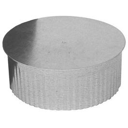 "5"" Small Galvanized End Cap thumb"
