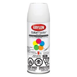 340g Interior/Exterior Fast Dry Satin Bright White Solvent Paint thumb