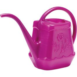 1.6L Plastic Watering Can, Assorted Colours thumb
