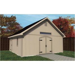 20' x 20' Workshop Package, with Vertical Siding thumb