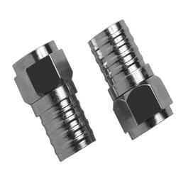 2 Pack RG6 Outdoor Weatherproof Burial Grade Connectors thumb
