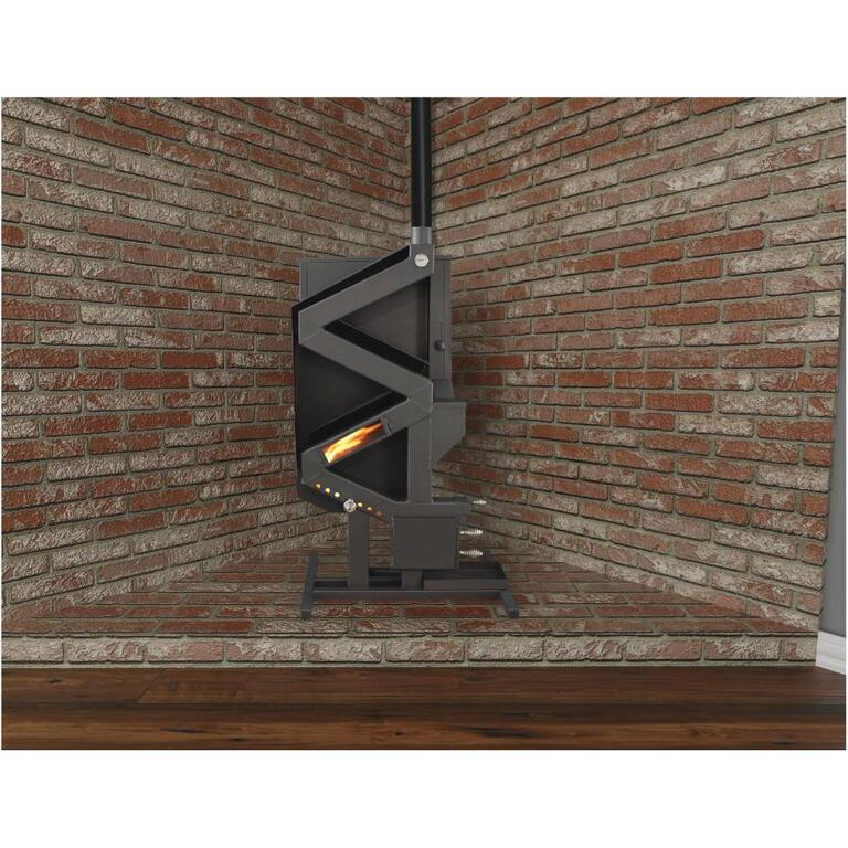 Wise Way Wiseway Non Electric Pellet Stove Home Hardware Canada