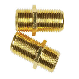 2 Pack RG6/RG56 In-Line Feed Couplers thumb