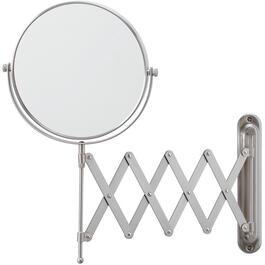 Nickel Wall Mount Extension Mirror thumb