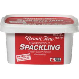 950mL Spackling Wall Compound, with Pink to White Dry Indicator thumb