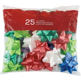 25 Pack Traditional Gift Bows thumb