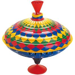 Multi Colour Spinning Top, with Sounds thumb