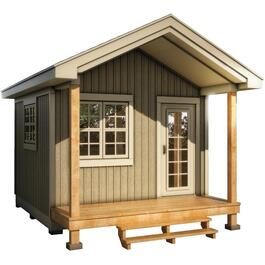 12' x 12' Bunkie, with Chalet Siding and Pine trim thumb