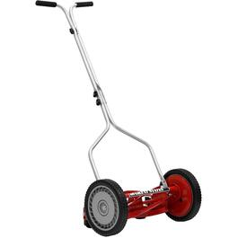 "5 Blade 14"" Push Reel Lawn Mower thumb"