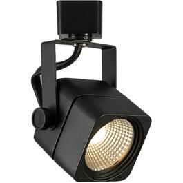 Apollo Black Track Head Light Fixture thumb