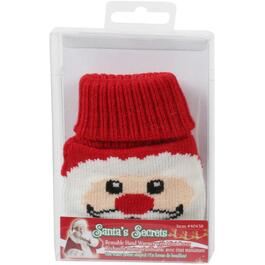 Christmas Knitted Hand Warmers, Assorted Designs thumb