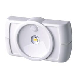 Battery Operated Slim White Wireless LED Motion Sensor Light thumb