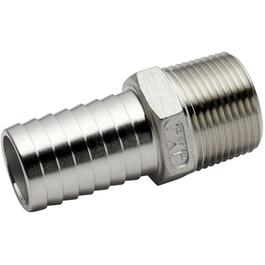 "1"" Insert x 1"" Male Stainless Steel Adapter thumb"