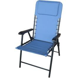 Blue Folding Bungee Chair thumb