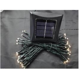 150 LED Warm White M5 Solar Light Set thumb