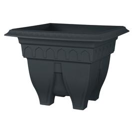 "15"" Black Square Azura Patio Planter thumb"