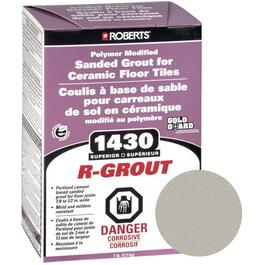 7lb Platinum Sanded Floor Grout thumb