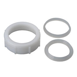 "1-1/2"" Plastic Slip Joint Drain Nut with Washer thumb"