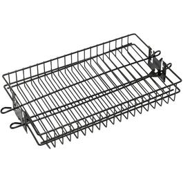 Non Stick Flat Spit Barbecue Basket thumb