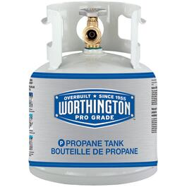 New 4.25lb Empty Propane Tank thumb