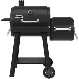 830 sq. in. Charcoal Smoker Barbecue thumb
