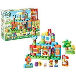 French Version Leapbuilders ABC Smart House Playset thumb
