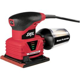 2 Amp 1/4 Sheet Palm Sander, with Pressure Control thumb