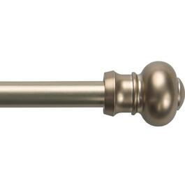 "28"" - 48"" Bronze Ashby Cafe Curtain Rod thumb"