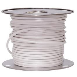 1' White 18/2 SVT Lamp Wire thumb