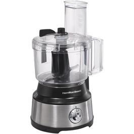 450 Watt 10 Cup Black/Stainless Steel Food Processor thumb