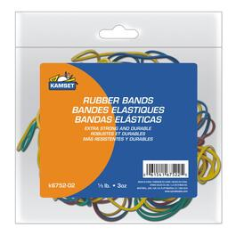 3oz Multi-Coloured Rubber Bands thumb