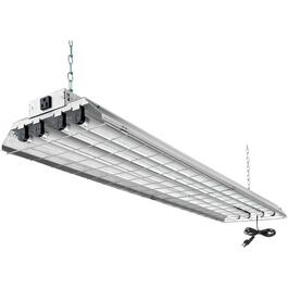 "32W T8 4 x 48"" Shop Light Fixture with Wireguard and Pull Chain thumb"