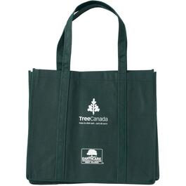 "15"" x 17"" x 11"" Large Eco Shopping Tote Bag, with Handle thumb"