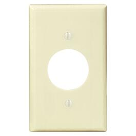 Ivory Single Receptacle Plate thumb