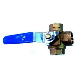 "1/2"" IPS 3 Way Ball Valve thumb"