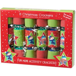6 Pack Mini Christmas Crackers thumb