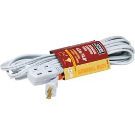 4.5M 3 Outlet PXWT 16/2 White Extension Cord thumb