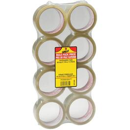 8 Pack 48mm x 50M Clear Sealing Packaging Tape thumb