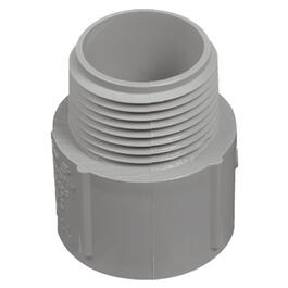 "1-1/2"" PVC Conduit Terminal Adapter thumb"