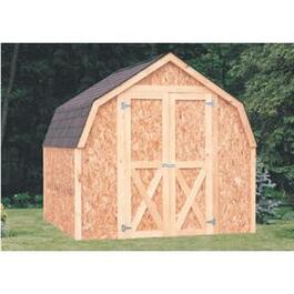 8' x 8' Basic Barn Style Shed Package, with Truss thumb