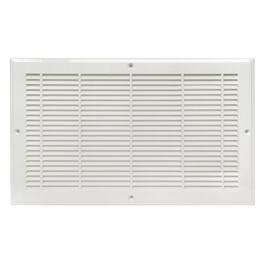 "6"" x 30"" White Poly Air Return Grille thumb"