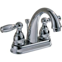 Chrome High-Arc 2 Handle Lavatory Faucet thumb